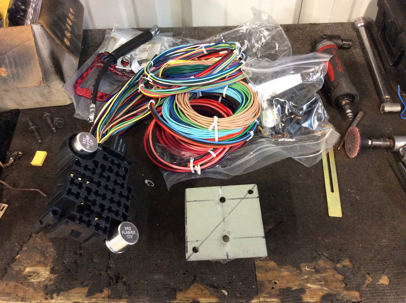 Complete harness for 1949 Ford F1